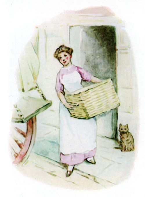 Did you not know that the hamper goes back empty on Saturdays?